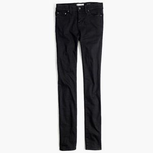 Madewell Alley Straight Jeans in Faded Black Wash